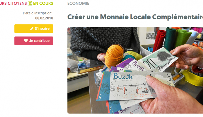 parcours creer une monnaie locale complementaire